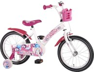 Volare Kanzone Giggles detský bicykel White Pink 16