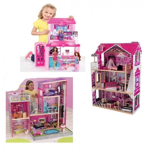 69876298f2a00 Drevené domčeky pre bábiky, zámky, obchody, bábiky