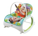 Fisher Price Sedátko Rainforest  3v1 do 18kg