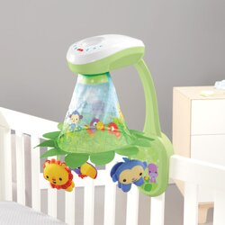 Fisher Price kolotoč s projektorom