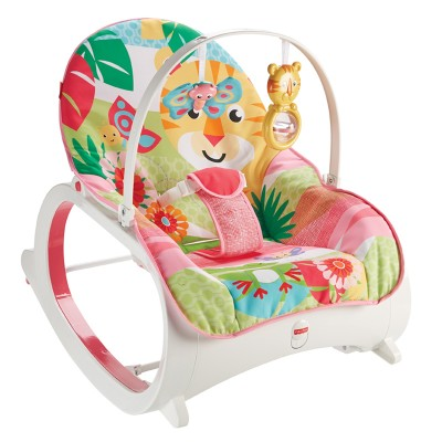 Fisher Price Sedátko Pink 3v1 do 18kg
