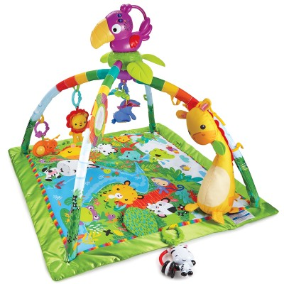 Fisher Price Rainforest Deluxe hracia deka s hrazdičkou