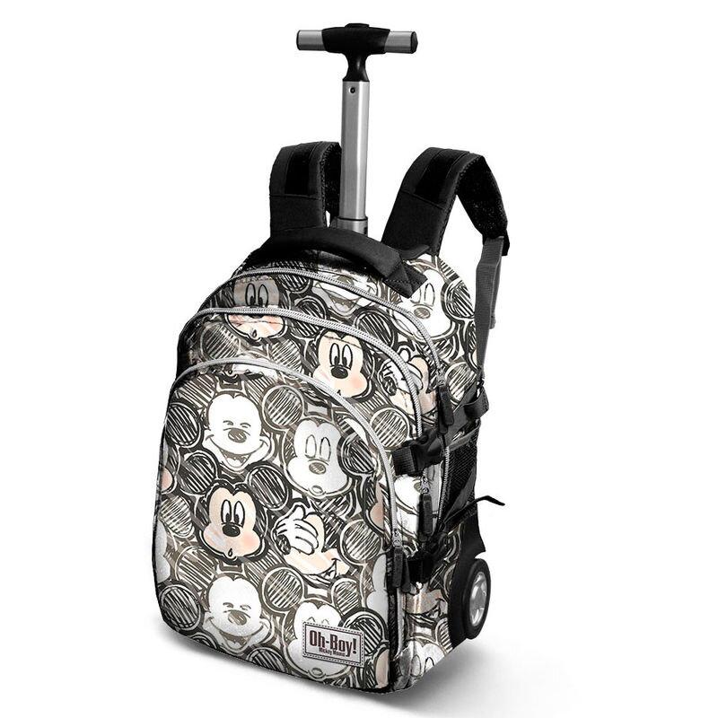 03d7fae288d76 Mickey Mouse Školská taška a cestovný kufrík na kolieskach