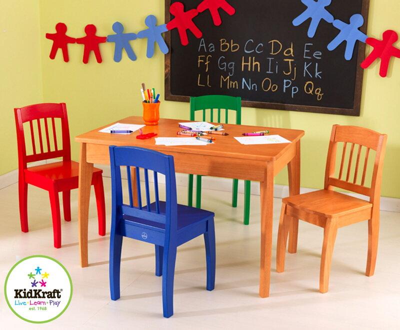 d9ba6010a3ecb KidKraft Detský stolík so stoličkami Euro Honey