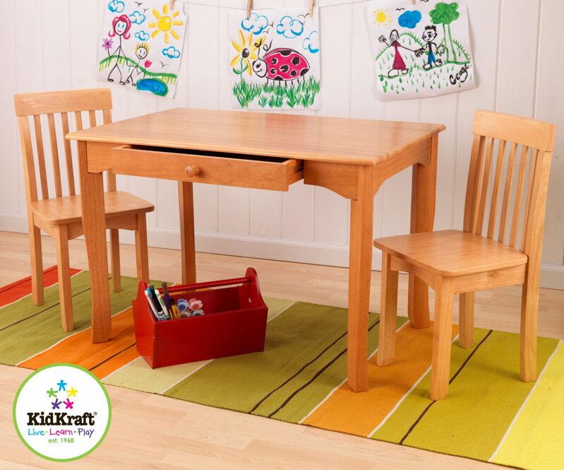 c50020a1b980d KidKraft Detský stolík so stoličkami Avalon Honey