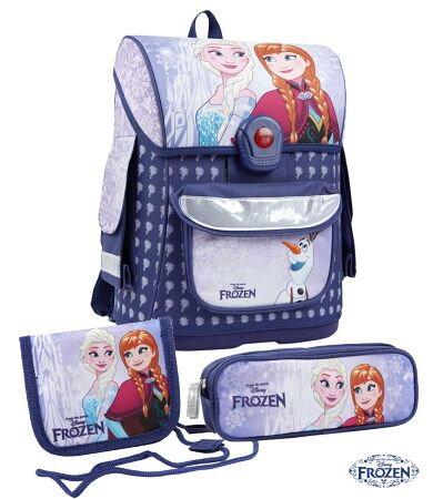 0efd4cef35 Disney Frozen školská taška set fialova