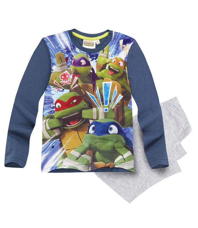 c0fdca9c13f Ninja Turtles pyžamo modré