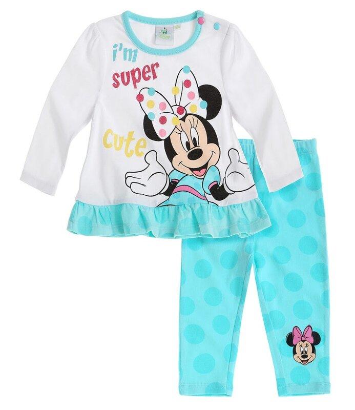 49149a03e Disney Minnie Mouse tričko a legíny modrá