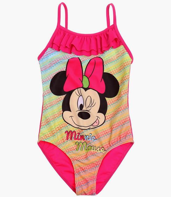 f6a27f280 Disney Minnie Jednodielne plavky