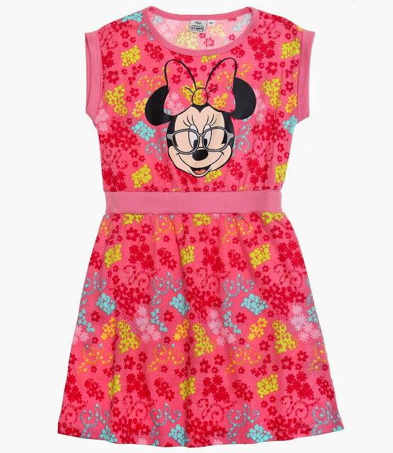 e4b53eb6c5e7 Disney Minnie Šaty kvietky