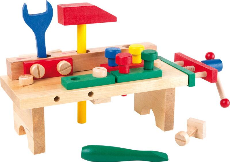 a60b5d2280b5a Small Foot Drevený pracovný stôl - Ponk s náradím