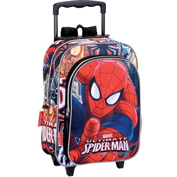 d71b292834 Spiderman Marvel školský batoh na kolieskach