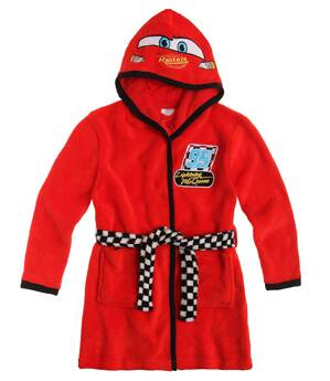 Disney CARS Coral fleece Župan s kapucňou