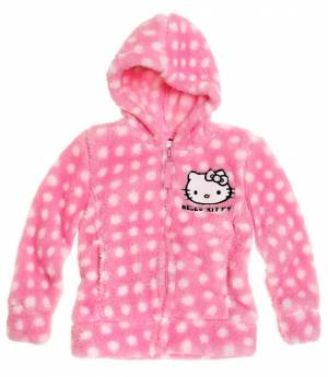Disney HELLO KITTY bunda coral ružová