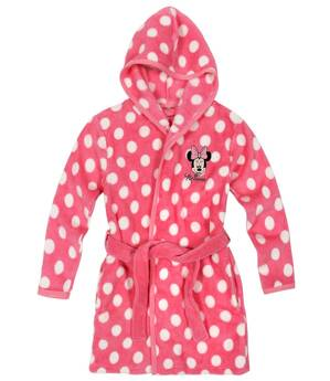 Disney MINNIE MOUSE Coral fleece Župan s kapucňou