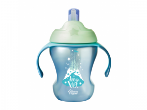 Tommee Tippee Netečúci hrnček so slamkou Explora Easy Drink 230ml 6m +
